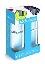 Sodastream PET - Flasche 2 Stück Duo - Pack Sodaclub schwarz