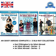 AN IDIOT ABROAD - Series 1-3 Complete Collection 1 2 3 Brand New Sealed Blu-ray
