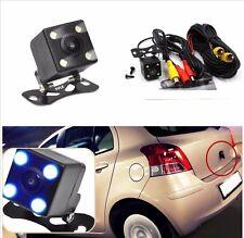 12V 4LED 140° Night Vision Waterproof Car HD Reversing Backup Parking Camera Kit