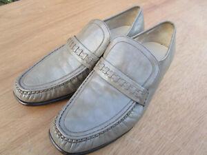 Men's Barker shoes size 9: G fitting (wide): loafer style.