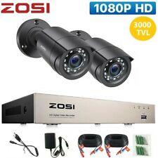 More details for zosi cctv 1080n dvr 3000tvl 4ch outdoor home surveillance security camera system