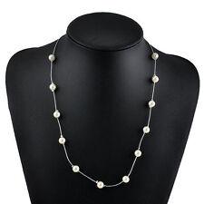 Charm Jewelry Pendant Chain Pearl Fashion Choker Chunky Statement Bib Necklaces