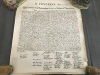 "In Congress, July 4, 1776,""Declaration of Independence"""