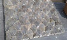 75 Falconnier Glasbausteine der Fläche ca.1,33m br. x 1,03m Höhe