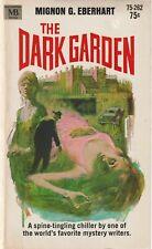 The Dark Garden, Mignon G Eberhart - 1969 Paperback