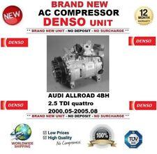 DENSO COMPRESSORE AC AUDI ALLROAD 4BH 2.5 TDI quattro 2000.05-2005.08 4B0260805J