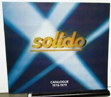 1977 & 1978-1979 Solido Diecast Miniatures Toys Catalogs Cars Trucks Military