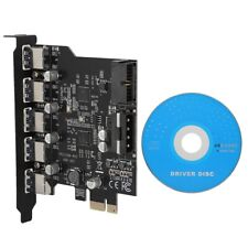 PCI-E to USB 3.0 19-Pin 5 Port PCI Express Expansion Card SATA 15PIN Connector T