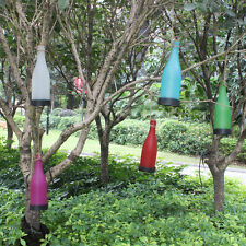 Solar LED Hanging Wine Bottle Lantern Light Summer Garden Yard Party (4 Pack)