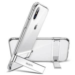 ESR Air Boost Shield Case Cover With Multi Kickstand iPhone X/XS Clear