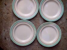 Royal Doulton ART DECO SIMPLEX 4 x 9.5 inch dinner  plates Vintage