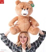 "24"" Teddy Bear Soft Plush Doll Movie Ted Stuffed Animal Toy Ted Bear Kids Gifts"