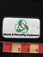 PCI WASTE & RECYCLING EQUIPMENT Advertising Patch - Environment Ecology 77RR