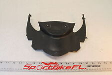 08-10 DUCATI 848 FRONT CENTER COWL FAIRING PLASTIC COVER INNER UPPER