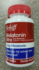 Schiff Melatonin Ultra 3 mg Melatonin 365 ct sleep aid support (more than 300)