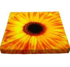 Stuhlkissen - Sitzkissen Blume Gerbera - ca 40 x 40 x 3 cm Kissen Unterlage
