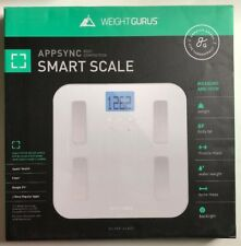 Weight Gurus Digital Body Fat Scale with Large Backlit Lcd and Smartphone.