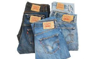 Vintage Levi's 501 Jeans Men Women W26-27-28-29-30-31-32-33-34-35-36-38-40