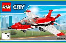LEGO® CITY 60103 ein Flugzeug Jet Düsenjäger mit Pilot Flughafen Flieger Nr.1
