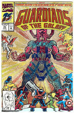 Guardians of the Galaxy #25 (1992 vf/nm 9.0) giant size, prismatic card cover