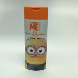 DESPICABLE ME MINION 2 IN 1 SHAMPOOO AND CONDITIONER 400ML