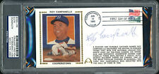 Roy Campanella Autographed Signed First Day Cover Dodgers PSA/DNA #84116508