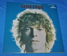 david bowie: man of words LP sealed BLUE VINYL rare ltd ed. groningen bowie is
