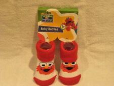 Sesame Street Beginnings Baby Elmo Baby Booties