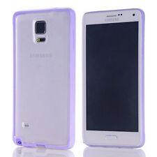 Coque bumper bi-matière TPU pour Samsung Galaxy Note 4 -  Violet Pale