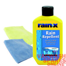 RAIN X WINDSCREEN RAIN REPELLENT - IMPROVE VISIBILITY - LESS FROST WATER BEADING