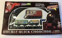 Small Train Set Battery Powered Western Style Railway Plastic  Not Working