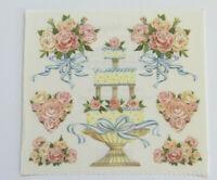 Strip of Vintage Stickers #RTST 605 Frances Meyer LOVE DOVE
