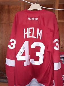 Darren Helm Autographed Jersey