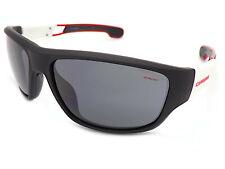 Carrera 4008/S Sunglasses Matt Black White / Grey 4NL
