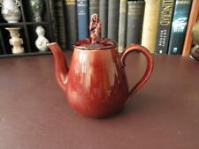19th c Victorian Treacle Glaze Teapot, Sybil Finial,   Attributed To Wedgwood