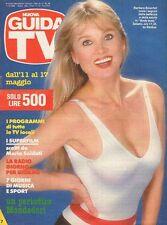 rivista NUOVA GUIDA TV ANNO 1986 NUMERO 19 BARBARA BOUCHET