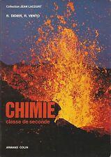 Chimie, Classe de seconde Armand Colin