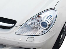 Mercedes SLK (R171) 2005-2011 Chrome Head Light Surround Set