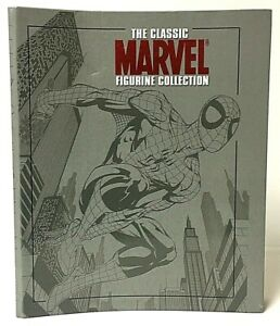 The Classic Marvel Figurine Collection Binder With 13 Eaglemoss Magazine Issues