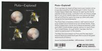 PLUTO-EXPLORED SOUVENIR SHEET -- USA FOREVER 2016 SPACE. USPS Sealed Package!