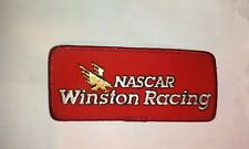 Vintage Nascar Winston Cup Racing Iron/ Sew on Patch Red - NEW - Free Shipping