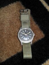 "Hamilton GG-W-113 Jun 1976 ""Manual Wind"" Military Timepiece, Nice Condition L@@K"