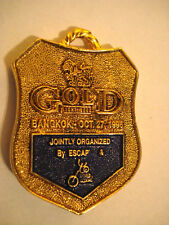 MEDAILLE GOLD 1996 SPORT COURSE RUN BANGKOK THAILAND