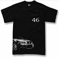 T-shirt for bmw e46 m3 fans 320 323 325 t shirt + Langarm