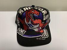 Vintage Toronto Raptors Big Logo Snapback Hat Cap The Game Raps Ovo Retro Rare