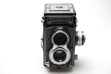 Rolleiflex T model 1 Zeiss Tessar 75mm F3.5 TLR Grey Grau - GEWARTET / SERVICED