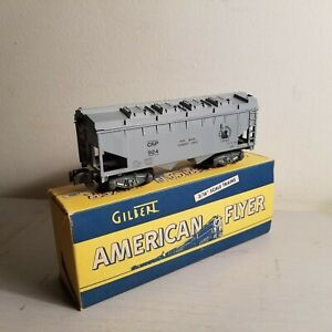 American Flyer No. 924 Jersey Central Cement Car<+++>Original Box<+++>