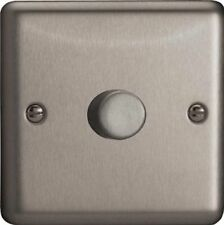 Chrome 1-Gang LED Home Electrical Fittings