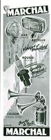 Publicité ancienne Marchal pièces de voiture 1953 H Cany issue magazine