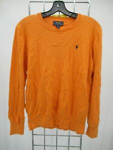 I5899 VTG Polo by Ralph Lauren Boy's Crewneck Pullover Sweater Size XL (18-20)